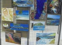 Cinquième Printemps des Peintres organisé par la ville de La Londe Les Maures