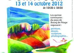 Chemin de peintres dans la Drôme