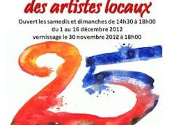 25Eme salon d'hivers des artistes locaux
