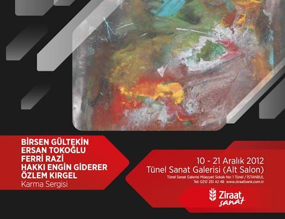 Exposition Galerie Sanat Ziraat Bank Istanbul - Turkie