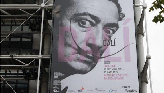 Exposition Salvador Dali au Centre Pompidou