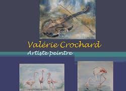 Exposition d'huiles et d'aquarelles à Pierrefeu du Var de Valérie Crochard