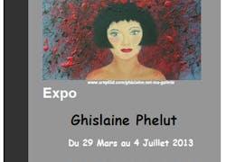 Exposition au château Tour Castillon