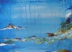 «Atelier bleu» où la couleur se décline en poésie… !