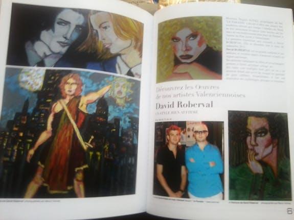 Exposition de mes oeuvres le 6 septembre 2012