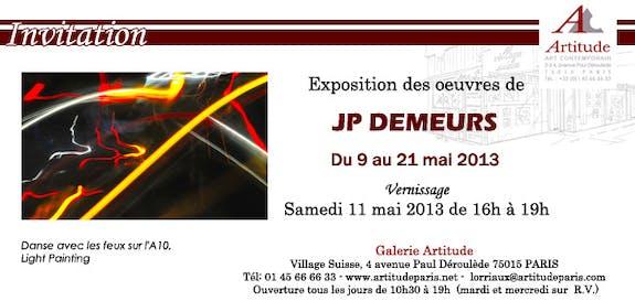 Jean Pierre demeurs danse avec les feux - photographies Light Painting