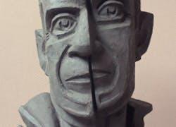 The portrait of Pablo Ruis Picasso