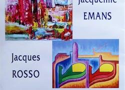 Oeuvres de Jacqueline Emans et Jacques Rosso
