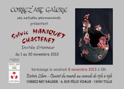 Galerie Corrèz'Art : Exposition novembre Sylvie Maniquet Chastenet, céramique