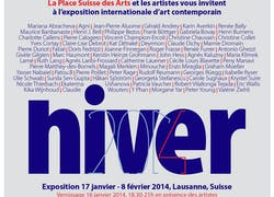 Exposition internationale d'art contemporain - Lausanne - Hiver 2014