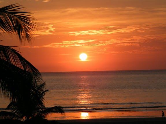 Coucher de soleil Casamance