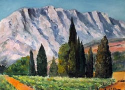 Le moulin de Cézanne route de Cézanne 13100 Le Tholonet