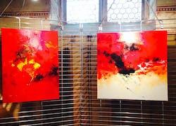 3 Artistes exposent à la chapelle Ste Catherine à Ribeauvillé jusqu'au 16 mai