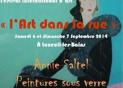 «L'Art dans la Rue» à Luxeuil les Bains