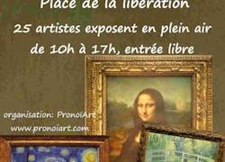 2Ème marché de l'art d'Annemasse, 21 juin 2014