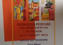 Exposition saint Laurent des Arbres (Gard)