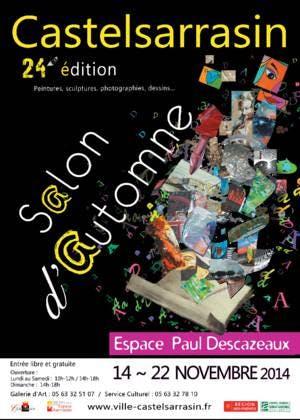 Jean-Luc Bénac expose au Salon d'Automne de Castelsarrasin