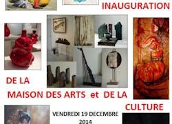 Inauguration de la maison des arts et de la culture
