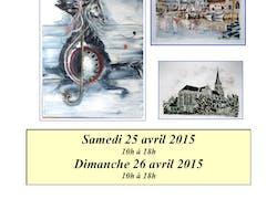 2Ème Salon d'Art de Saint Just en Chaussée, oise