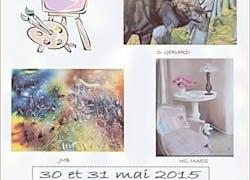 L'Association «Mille et un Arts» expose les 30 & 31 mai 2015