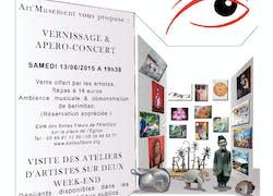 Ouverture des ateliers d'artistes du Val de l'Autize et du Val d'Egray