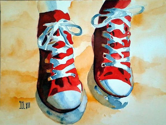 Watercolor: a passion above all, a daily need!