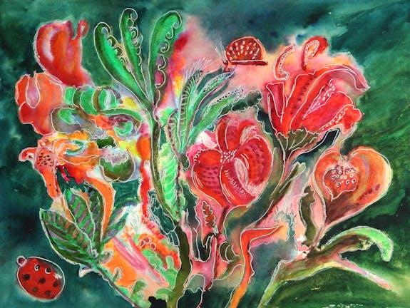Exposition Peinture Maï Laffargue Source des Arts à Nancy