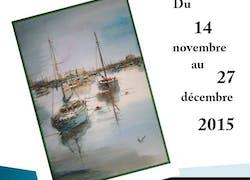 Exposition d'aquarelles à Cherbourg par Valérie Crochard