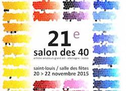 Salon des 40 Artistes à Saint Louis