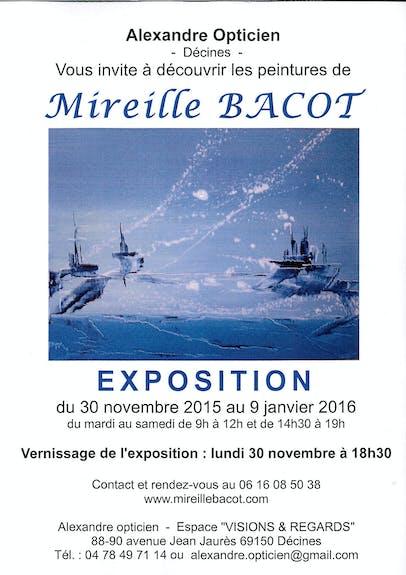 Expo solo de Mireille Bacot