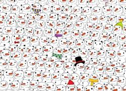 Where is the panda?