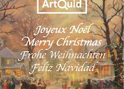 ArtQuid wishes you a merry Christmas!