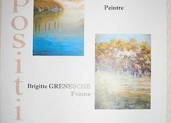 Affiche concernant une exposition personnelle fin 2014/début 2015