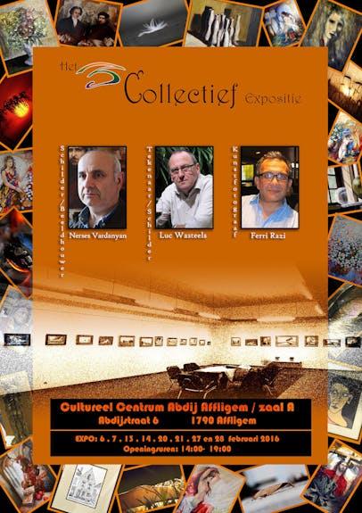 Exposition Collective d'Art Contemporain » Cultureel Centerum Abdij Affligem»