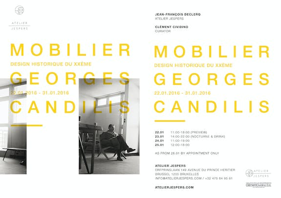 Mobilier Georges Candilis