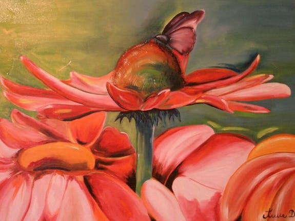 Exposition de peintures à l'huile -- 1er au 31 Mai 2016 Belgique