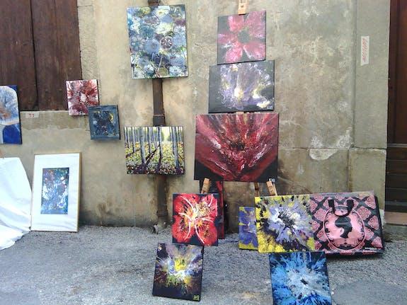 Exposition à Malaucène (Vaucluse) Le 8 août 2015