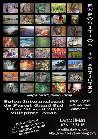 Salon International Pastel Grand Sud