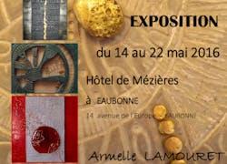 Une a deux - Exposition d'art mixte contemporain