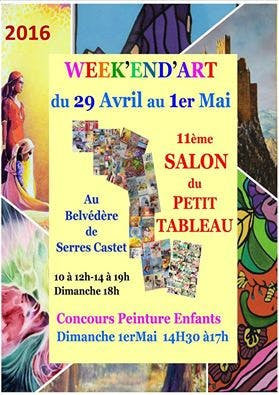 Le Salon du petit Tableau de Serres- Castet… Version 2016