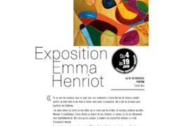 Exposition Emma henriot