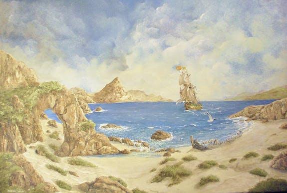 Jacques Moncho expose ses peintures
