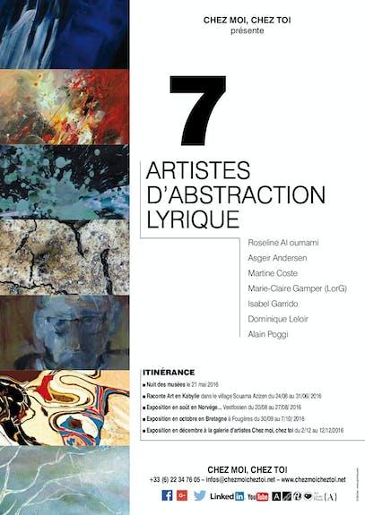 7 Artistes en itinérance