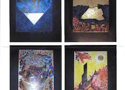 Les mots se font souffle… Exposition 2007: 4 oeuvres d'Anelf