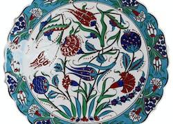 Les céramiques ottomanes d'Iznik, céramique d'art traditionnelle
