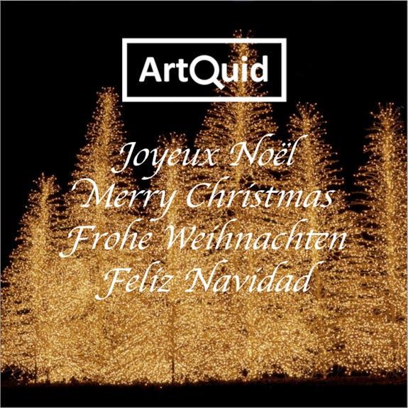 ArtQuid te desea una feliz Navidad!
