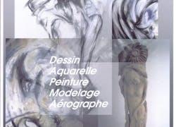 Cours de dessin, aquarelle, acrylique, modelage.