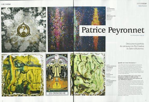 Prix be creative. Art Digital. Salon d'automne de Paris 2016.