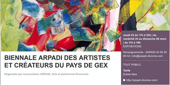 Biennale arpadi, Divonne les Bains, France
