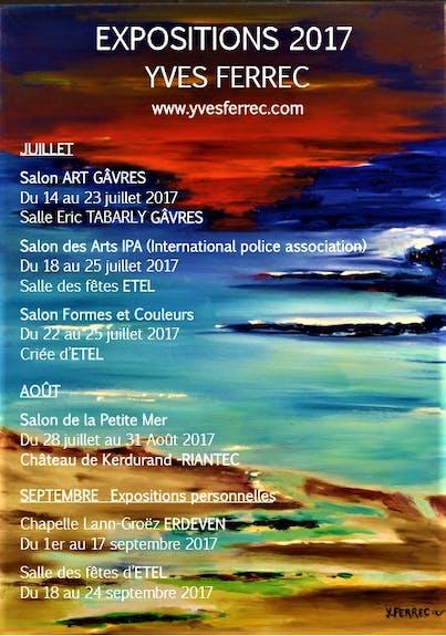 Expositions Yves Ferrec 2017